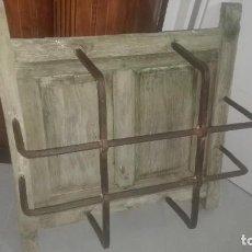 Antigüedades: VENTANA CON REJA DE FORJA. Lote 72342143