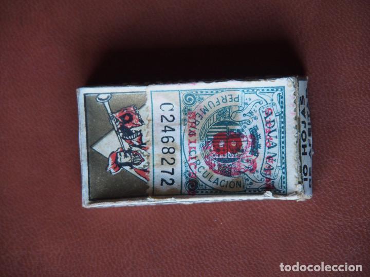 Antigüedades: Cajita original con hojas de afeitar Emporium de lujo en su interior. Anterior a 1949. - Foto 2 - 72363071