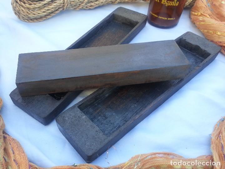 Antigüedades: ANTIGUA PIEDRA DE AFILADO. PARA FORMONES Y OTRAS HERRAMIENTAS. - Foto 3 - 72405903