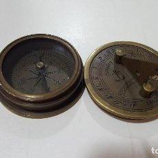 Antigüedades: BRUJULA RELOJ SOLAR STANLEY LONDON 1862. Lote 72903035