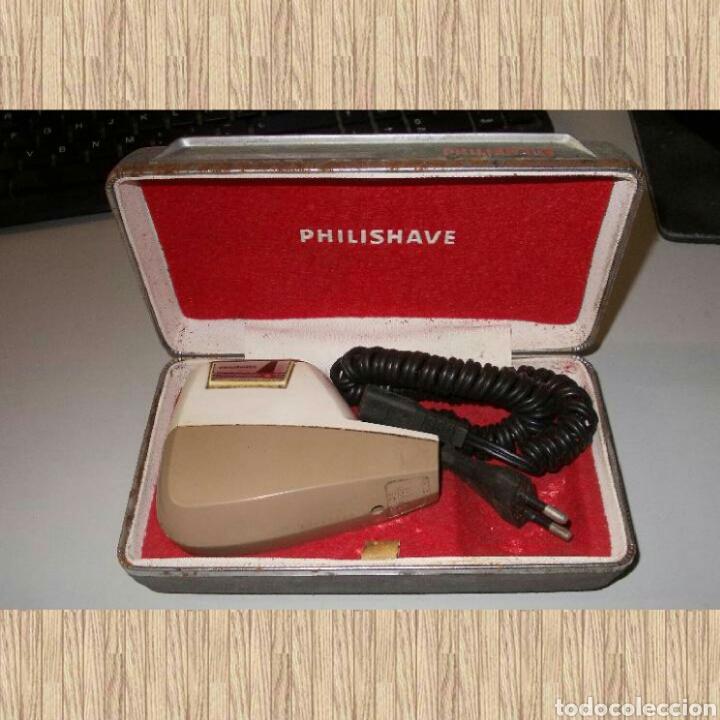 ANTIGUA MÁQUINA AFEITAR PHILIPSHAVE TYPE SC 7960G, MADE IN GT BRITAIN, FUNCIONA (Antigüedades - Técnicas - Barbería - Maquinillas Antiguas)