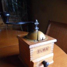 Antiquitäten - MOLINILLO DE CAFÉ ELMA DE MADERA - FUNCIONANDO - ANTIGUO - 72931591