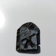 Antigüedades: PLANCHA DE IMPRESIÓN. IMPRENTA. IMAGEN DE DIBUJO ANIMADO O COMIC. METAL. Lote 73013927