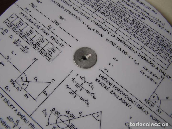Antigüedades: REGLA DE CALCULO CIRCULAR FUNDA INSTRUCCIONES logaritmického po?ítadla 1 SLIDE RULE RECHENSCHIEBER - Foto 18 - 73081783