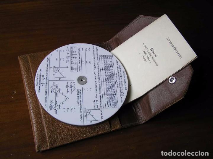 Antigüedades: REGLA DE CALCULO CIRCULAR FUNDA INSTRUCCIONES logaritmického po?ítadla 1 SLIDE RULE RECHENSCHIEBER - Foto 20 - 73081783