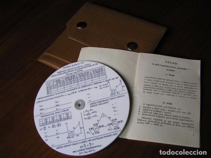 Antigüedades: REGLA DE CALCULO CIRCULAR FUNDA INSTRUCCIONES logaritmického po?ítadla 1 SLIDE RULE RECHENSCHIEBER - Foto 28 - 73081783