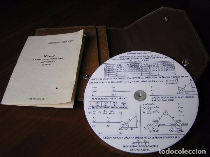 Antigüedades: REGLA DE CALCULO CIRCULAR FUNDA INSTRUCCIONES logaritmického po?ítadla 1 SLIDE RULE RECHENSCHIEBER - Foto 32 - 73081783