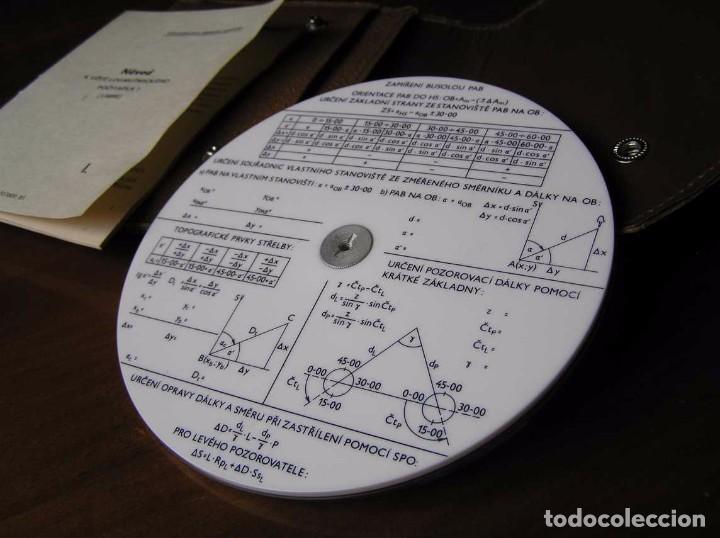 Antigüedades: REGLA DE CALCULO CIRCULAR FUNDA INSTRUCCIONES logaritmického po?ítadla 1 SLIDE RULE RECHENSCHIEBER - Foto 33 - 73081783