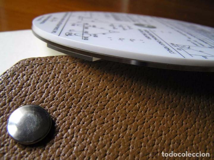 Antigüedades: REGLA DE CALCULO CIRCULAR FUNDA INSTRUCCIONES logaritmického po?ítadla 1 SLIDE RULE RECHENSCHIEBER - Foto 35 - 73081783