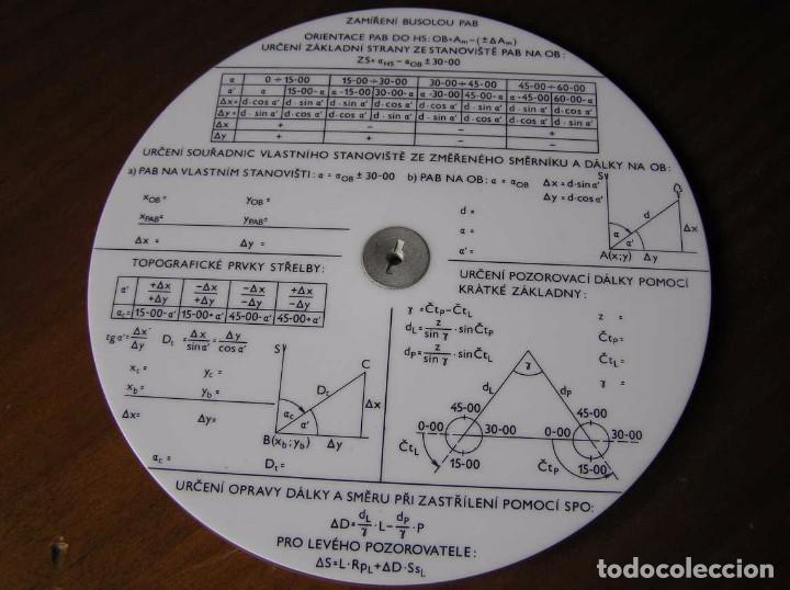 Antigüedades: REGLA DE CALCULO CIRCULAR FUNDA INSTRUCCIONES logaritmického po?ítadla 1 SLIDE RULE RECHENSCHIEBER - Foto 38 - 73081783