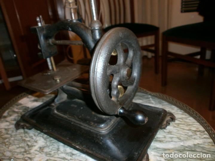 Antigüedades: MAQUINA DE COSER GUHL & HARBECK - HAMBURG - MODELO ORIGINAL EXPRES - Foto 5 - 73082403