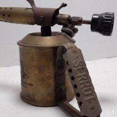 Antigüedades: SERROT LAMPARA ANTIGUA DE SOLDAR.. Lote 73573427