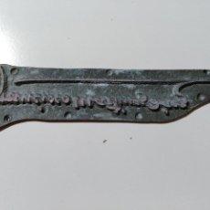 Antigüedades: PLANCHA DE IMPRESIÓN. CON LA FIRMA DE FRANCISCO MARTINEZ DIAZ.. Lote 73658479