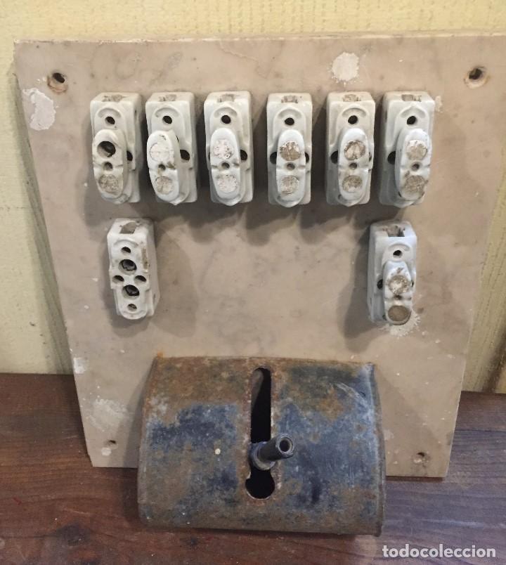 CUADRO ELÉCTRICO GRANDE (Antigüedades - Técnicas - Herramientas Profesionales - Electricidad)