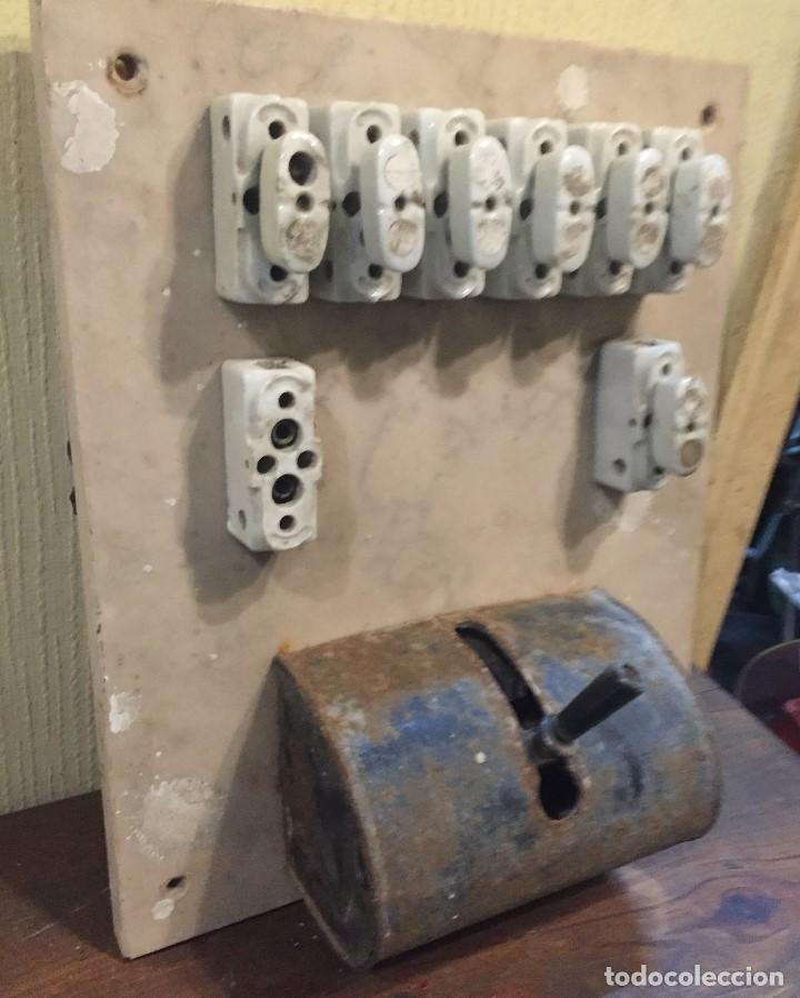 Antigüedades: Cuadro eléctrico grande - Foto 2 - 73695091