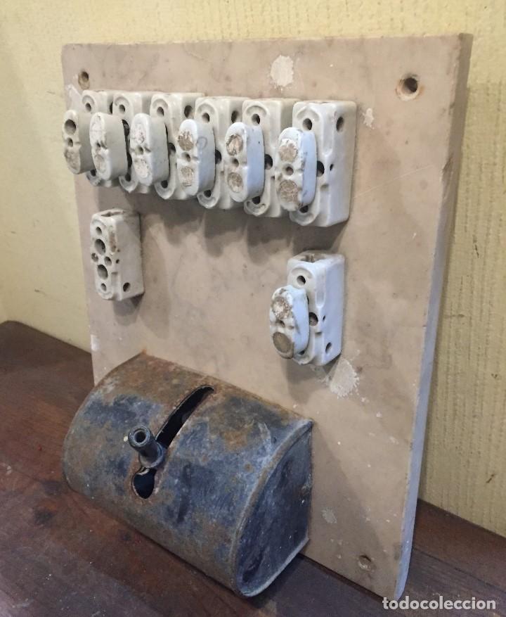 Antigüedades: Cuadro eléctrico grande - Foto 3 - 73695091