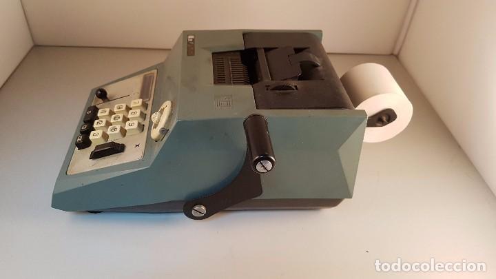 Antigüedades: Calculadora - sumadora Olivetti. Funciona - Foto 2 - 169331046