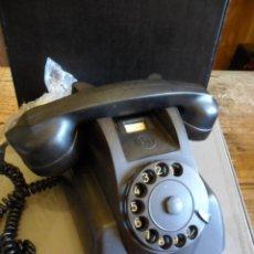 Teléfonos: TELÉFONO DE SOBREMESA EN BAQUELITA NEGRO - PTT - ANTIGUO. Lote 73832591