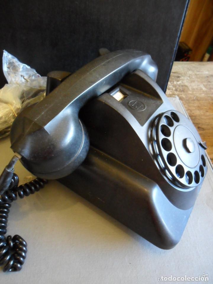 Teléfonos: TELÉFONO DE SOBREMESA EN BAQUELITA NEGRO - PTT - ANTIGUO - Foto 3 - 73832591