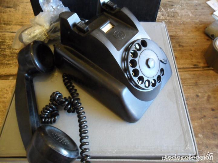 Teléfonos: TELÉFONO DE SOBREMESA EN BAQUELITA NEGRO - PTT - ANTIGUO - Foto 4 - 73832591