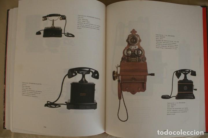 Teléfonos: LIBRO: COLECCIÓN HISTORICO-TECNOLOGICA DE TELEFONICA – HISTORIA TECNOLOGIA TELEFONO RADIO TELEFONIA - Foto 16 - 73941547