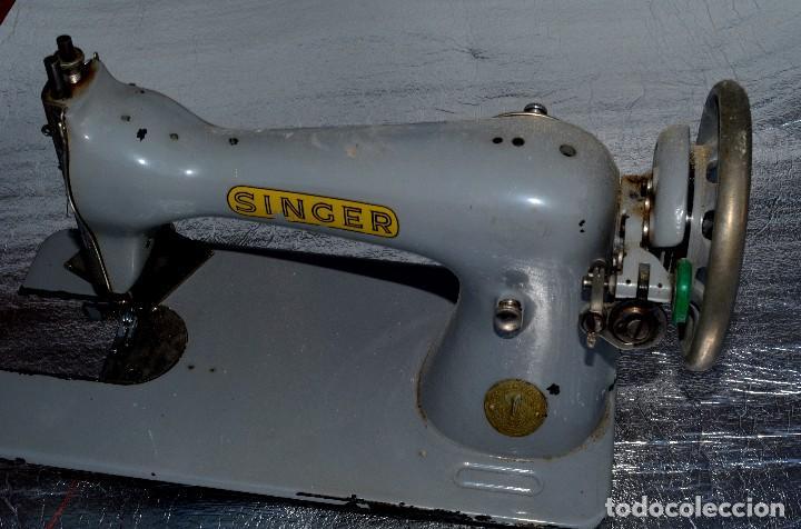 Antigüedades: MAQUINA DE COSER SINGER , VINTAGE - Foto 3 - 73946547