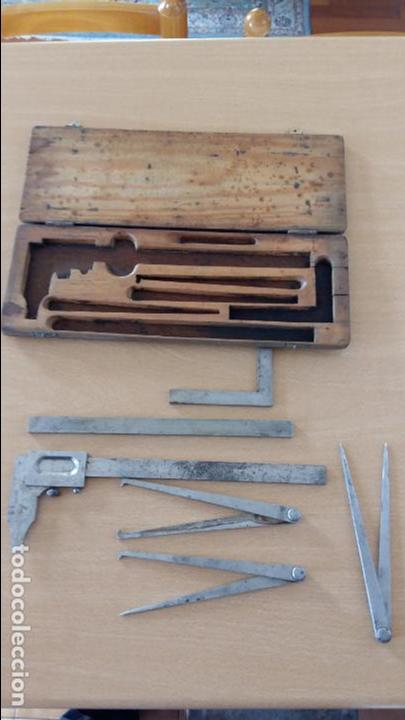 Antigüedades: CAJA DE HERRAMIENTAS PARA METAL, GLASHART, HELIOS. GERMANY - Foto 2 - 73975995