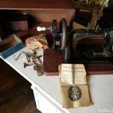 Antigüedades: MAQUINA DE COSER SOBREMESA. Lote 73988262