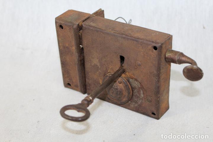 cerradura antigua con llave para puerta de entr comprar