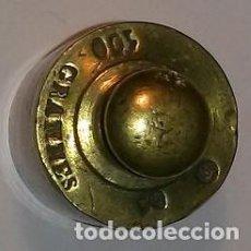 Antigüedades: PESA 100 G. FRANCESA, LEYENDA 100 GRAMMES, COMTRASTE (L A) Y CORONA. Lote 74140871