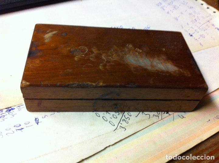 Antigüedades: COMPLETO JUEGO DE PESAS PARA BALANZA QUILATERA DESDE 20 g HASTA 0,200 g (C07) - Foto 2 - 74213763