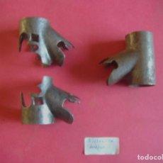Antigüedades: JUEGO RACORD CUADRO BICICLETA MUJER CLASICA ANTIGUA. Lote 74231639