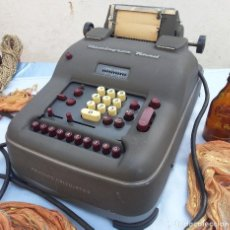 Antigüedades: ANTIGUA CALCULADORA. MARCA REMINGTON RAND. AÑOS 60. OLD CALCULATOR. Lote 74297363
