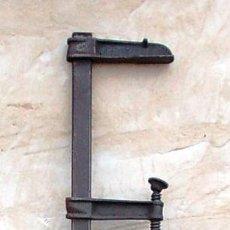 Antigüedades: SARGENTO O TORNILLO DE APRIETE, GATO DE LA MARCA STABIL GROSS DE 100 CM. Lote 74532307