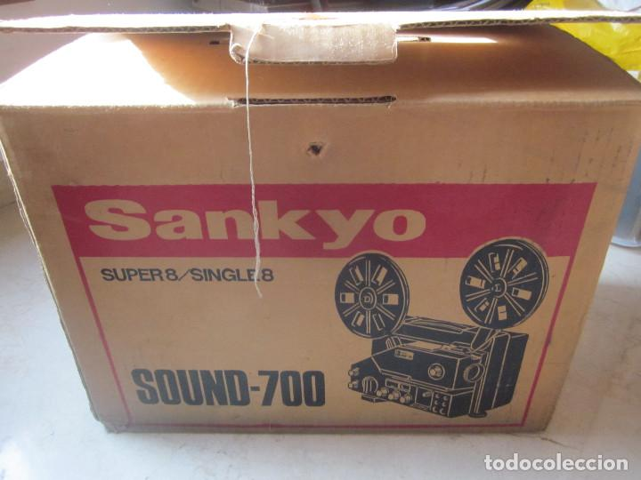 Antigüedades: PROYECTOR SANKYO SOUND 700 - Foto 2 - 74715875