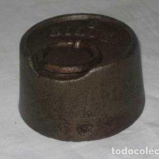 Antigüedades: PESA DE 5 KILOS. Lote 74735819