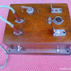 Teléfonos: ANTIGUO CUADRO DE CENTRALITA, FABRICADO EN ABRIL DE 1919. Lote 56003028