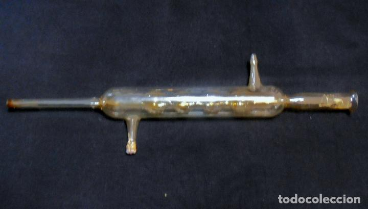 Antigüedades: PIPETA CON CUATRO ORIFICIOS41 CM DE LARGO - Foto 2 - 74752159
