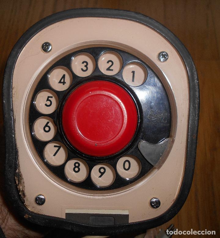 Teléfonos: TELEFONO ERICSSON ERICOFON MODELO COBRA, BLANCO HUESO, años 60 o 70 - Foto 9 - 74791423