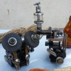 Antigüedades: CONJUNTO VIEJO DE MECANISMOS PARA HACER LLAVES.. Lote 74843491