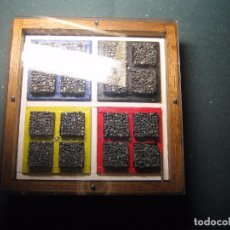 Antigüedades: IMPRENTA CUADRO TIPOGRÁFICO REFERENCIA 4X4, MODELO 1, TAMAÑO 14X13X3 CM -. Lote 74868895