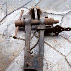Antigüedades - ANTIGUO TORNO DE BANCO DE HERRERO - 74904259