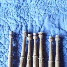 Antiquitäten - LOTE 7 BOLILLOS ANTIGUOS - 74941675