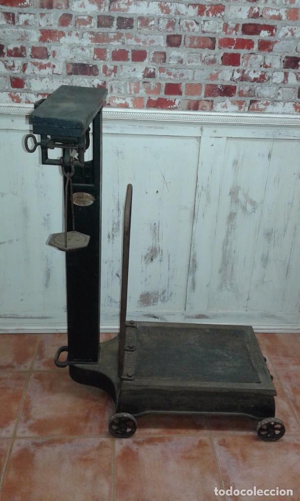 Antigüedades: BASCULA ANTIGUA MARCA JAIME FORN, BARCELONA - Foto 8 - 74944559
