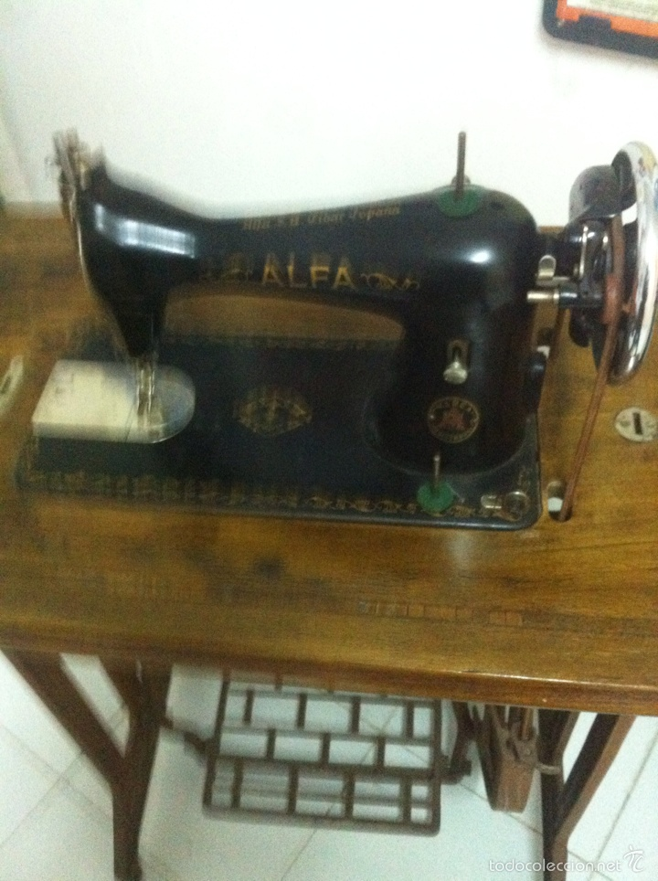 Antigüedades: Máquina de Coser ALFA - Foto 2 - 97777351