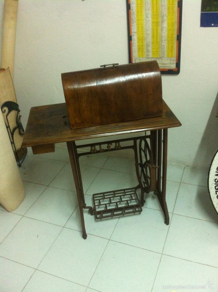 Antigüedades: Máquina de Coser ALFA - Foto 3 - 97777351