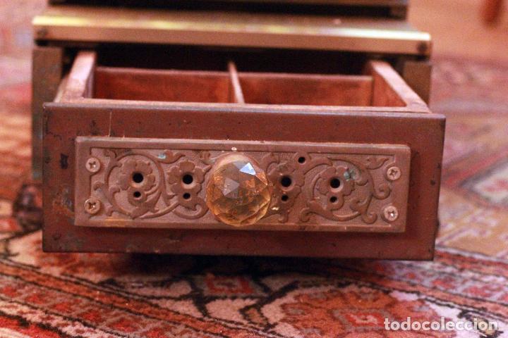 Antigüedades: Antigua maquina registradora, Milwaukee nº1, principios de siglo, única! Pieza de museo. - Foto 9 - 75116339