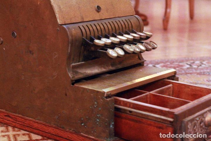 Antigüedades: Antigua maquina registradora, Milwaukee nº1, principios de siglo, única! Pieza de museo. - Foto 10 - 75116339