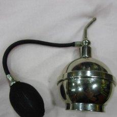 Antigüedades: PRECIOSO ANTIGUO ATOMIZADOR-PULVERIZADOR DE BARBERO-BARBERÍA-BARBERSHOP-METAL CROMADO-ORIGINAL PP XX. Lote 75123255