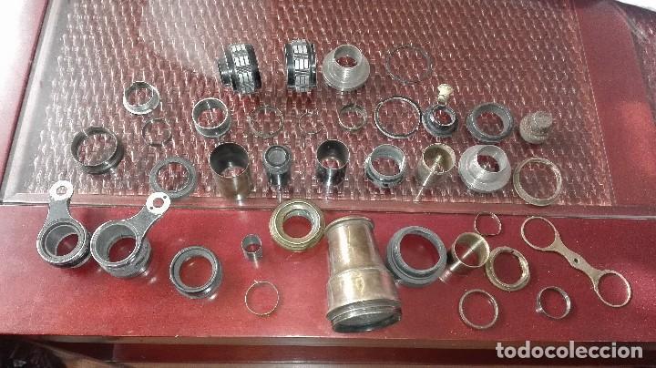 LOTE PIEZAS BINOCULARES ANTIGUOS (Antigüedades - Técnicas - Instrumentos Ópticos - Binoculares Antiguos)